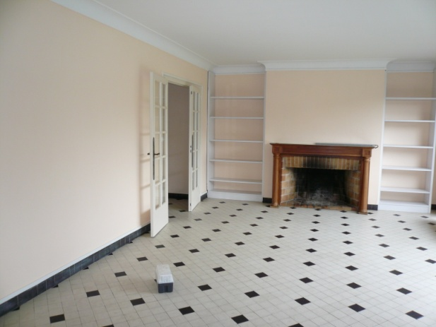 Avant apr s r novation d 39 un salon dans un esprit maison de fam - Renovation avant apres ...